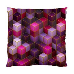 Cube Surface Texture Background Standard Cushion Case (one Side)