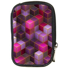 Cube Surface Texture Background Compact Camera Cases