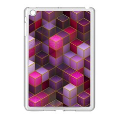 Cube Surface Texture Background Apple Ipad Mini Case (white)