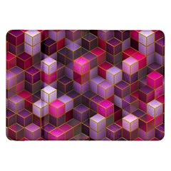 Cube Surface Texture Background Samsung Galaxy Tab 8 9  P7300 Flip Case