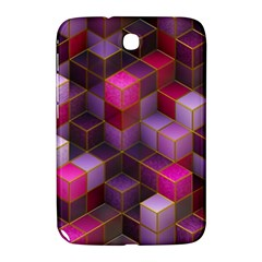 Cube Surface Texture Background Samsung Galaxy Note 8 0 N5100 Hardshell Case