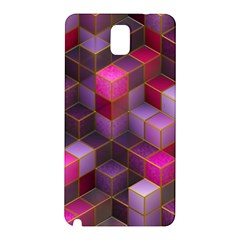 Cube Surface Texture Background Samsung Galaxy Note 3 N9005 Hardshell Back Case