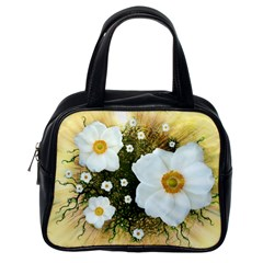 Summer Anemone Sylvestris Classic Handbags (one Side)