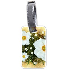 Summer Anemone Sylvestris Luggage Tags (two Sides)