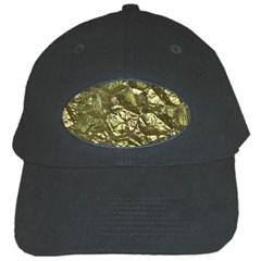 Seamless Repeat Repetitive Black Cap