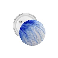 Feather Blue Colored 1 75  Buttons