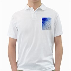 Feather Blue Colored Golf Shirts