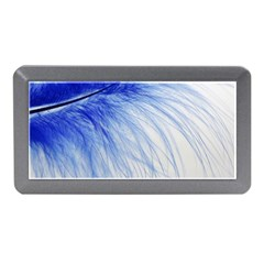 Feather Blue Colored Memory Card Reader (mini)