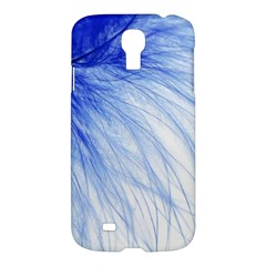 Feather Blue Colored Samsung Galaxy S4 I9500/i9505 Hardshell Case