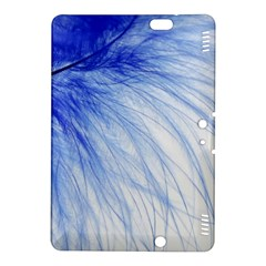 Feather Blue Colored Kindle Fire Hdx 8 9  Hardshell Case
