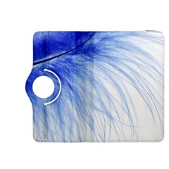 Feather Blue Colored Kindle Fire Hdx 8 9  Flip 360 Case