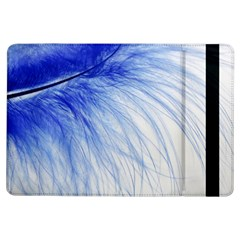 Feather Blue Colored Ipad Air Flip