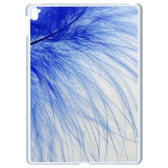 Feather Blue Colored Apple Ipad Pro 9 7   White Seamless Case