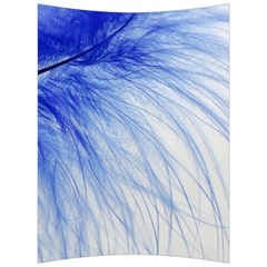 Feather Blue Colored Back Support Cushion
