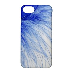 Feather Blue Colored Apple Iphone 8 Hardshell Case