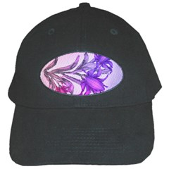 Flowers Flower Purple Flower Black Cap