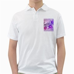 Flowers Flower Purple Flower Golf Shirts