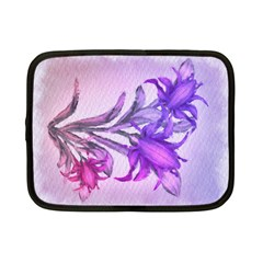 Flowers Flower Purple Flower Netbook Case (small)