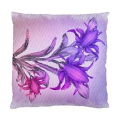 Flowers Flower Purple Flower Standard Cushion Case (one Side)