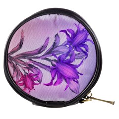 Flowers Flower Purple Flower Mini Makeup Bags
