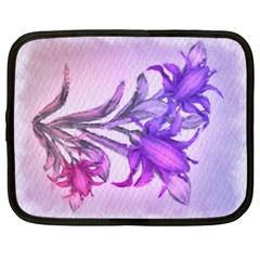 Flowers Flower Purple Flower Netbook Case (xxl)