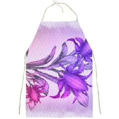 Flowers Flower Purple Flower Full Print Aprons
