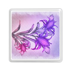 Flowers Flower Purple Flower Memory Card Reader (square)