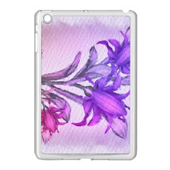 Flowers Flower Purple Flower Apple Ipad Mini Case (white)