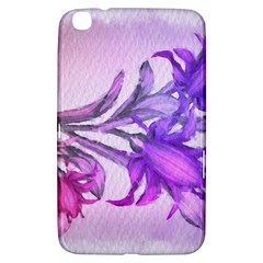 Flowers Flower Purple Flower Samsung Galaxy Tab 3 (8 ) T3100 Hardshell Case