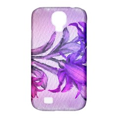 Flowers Flower Purple Flower Samsung Galaxy S4 Classic Hardshell Case (pc+silicone)