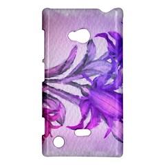 Flowers Flower Purple Flower Nokia Lumia 720