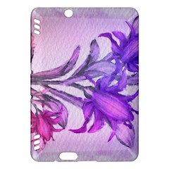 Flowers Flower Purple Flower Kindle Fire Hdx Hardshell Case