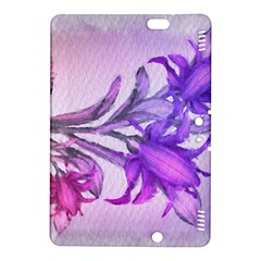 Flowers Flower Purple Flower Kindle Fire Hdx 8 9  Hardshell Case