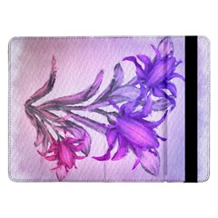 Flowers Flower Purple Flower Samsung Galaxy Tab Pro 12 2  Flip Case