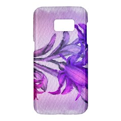 Flowers Flower Purple Flower Samsung Galaxy S7 Hardshell Case