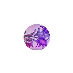 Flowers Flower Purple Flower 1  Mini Buttons
