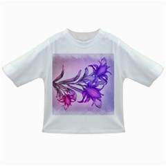 Flowers Flower Purple Flower Infant/toddler T Shirts