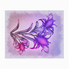 Flowers Flower Purple Flower Small Glasses Cloth
