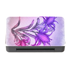 Flowers Flower Purple Flower Memory Card Reader With Cf