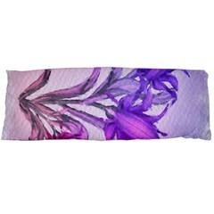 Flowers Flower Purple Flower Body Pillow Case Dakimakura (two Sides)