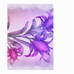Flowers Flower Purple Flower Small Garden Flag (two Sides)