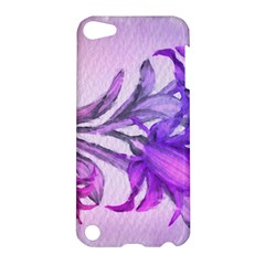 Flowers Flower Purple Flower Apple Ipod Touch 5 Hardshell Case