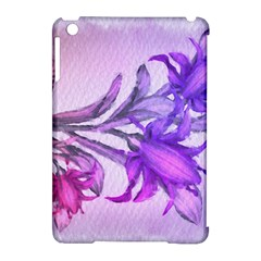 Flowers Flower Purple Flower Apple Ipad Mini Hardshell Case (compatible With Smart Cover)