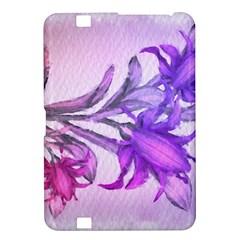 Flowers Flower Purple Flower Kindle Fire Hd 8 9