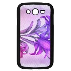Flowers Flower Purple Flower Samsung Galaxy Grand Duos I9082 Case (black)