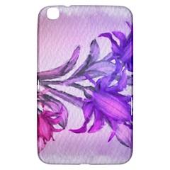 Flowers Flower Purple Flower Samsung Galaxy Tab 3 (8 ) T3100 Hardshell Case