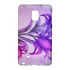 Flowers Flower Purple Flower Galaxy Note Edge