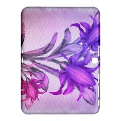 Flowers Flower Purple Flower Samsung Galaxy Tab 4 (10 1 ) Hardshell Case