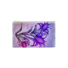 Flowers Flower Purple Flower Cosmetic Bag (xs)