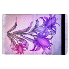Flowers Flower Purple Flower Apple Ipad Pro 12 9   Flip Case